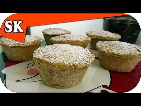 GLUTEN FREE VEGAN MINCE PIES with Home Made Sweet MinceMeat