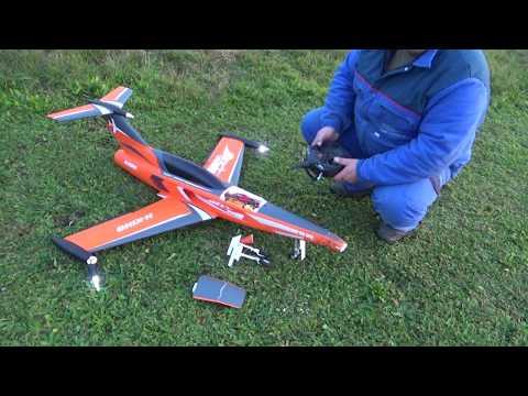 H-King SkySword 1200mm Orange 90mm EDF Jet (PNF) CRASH - UC3RiLWyCkZnZs-190h_ovyA