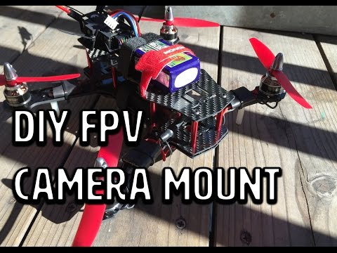 Custom FPV Camera Mount for ZMR250 Quadcopter - UCXForyVTdaoE50diO6znW4w