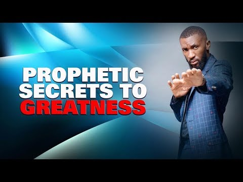 Prophetic Secrets To Greatness  Prophet Passion Java