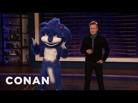 The New & Improved Sonic The Hedgehog Stops By CONAN - CONAN on TBS - UCi7GJNg51C3jgmYTUwqoUXA