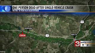 Authorities identify 18-year-old killed in Highway 2 crash
