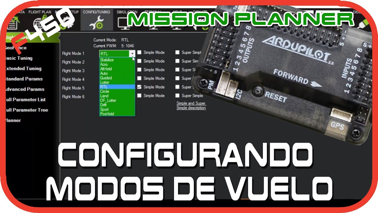 Mission Planner Drone