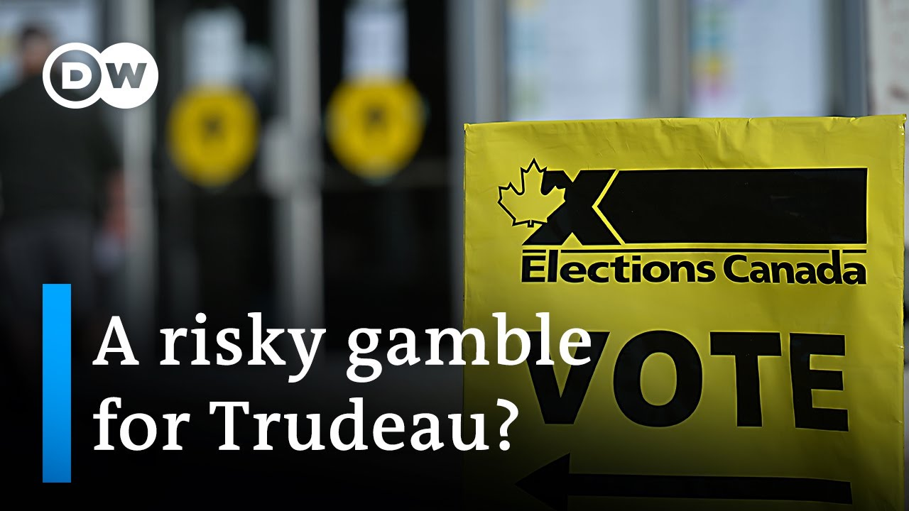 Canada votes in a snap election called by Prime Minister Justin Trudeau | DW News