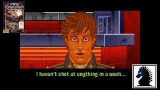 DOS Wing Commander - #12 Kurasawa System Mission #1: Destroy Any Kilrathi Convoys Encountered
