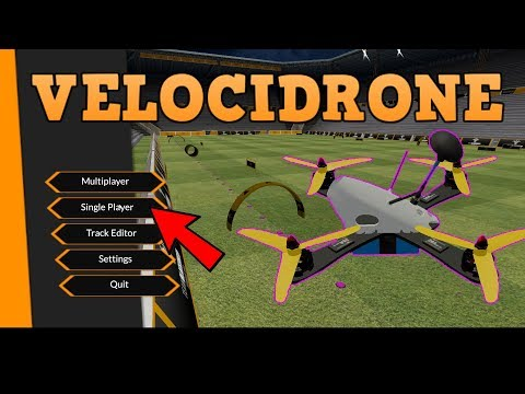 BECOME A BETTER PILOT! Practice on an FPV SIMULATOR. Velocidrone review. - UC3ioIOr3tH6Yz8qzr418R-g