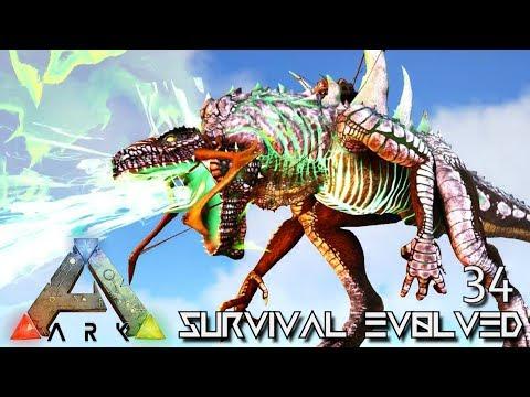 ARK: SURVIVAL EVOLVED - GODZILLA PERFECT TAME KAIJU GODZILLARK !!! E34 (ARK ETERNAL CRYSTAL ISLES) - default
