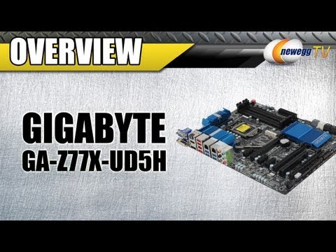 Newegg TV: Gigabyte GA-Z77X-UD5H Z77 Motherboard Overview - UCJ1rSlahM7TYWGxEscL0g7Q