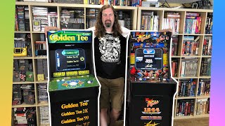 Arcade1Up: Golden Tee & Final Fight Cab [ REVIEWS ] - Are they worth $300+?