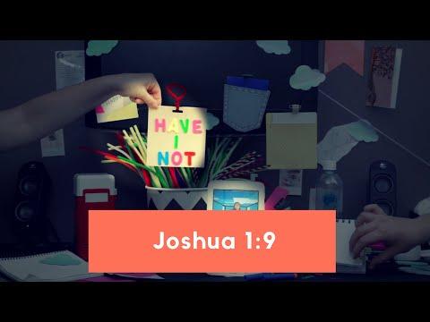 Memory Verse Song - Joshua 1:9