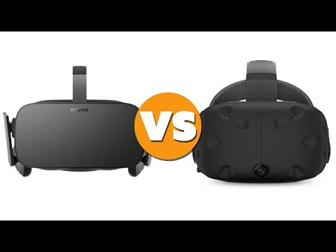 HTC Vive vs Oculus Rift: Which is Better? - The Know - UC4w_tMnHl6sw5VD93tVymGw