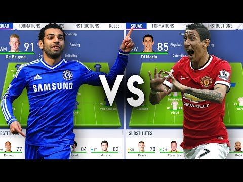 Chelsea Rejects Team VS Manchester United Rejects Team - FIFA 19 Experiment