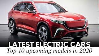 Auto elettriche del 2020
