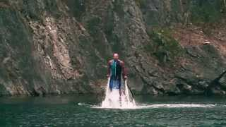 Flyboard video by Flyboard Czech
