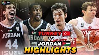 JORDAN VS TURKEY