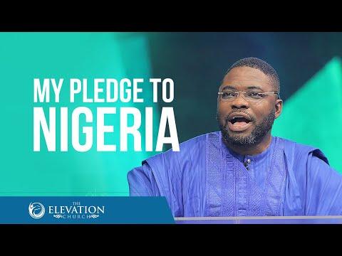 My Pledge to Nigeria (Independence Day Anniversary Service)  Pastor Tunji Iyiola