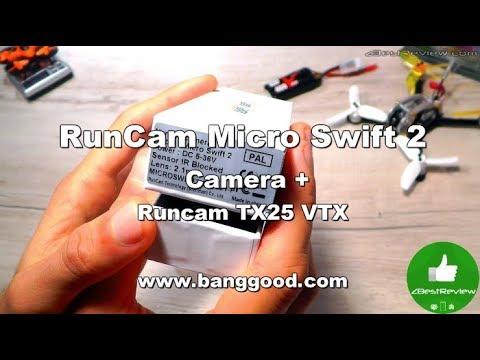 ✔ RunCam Micro Swift 2 Camera, Runcam TX25 VTX, Kingkong Fly Egg 130 Test! Banggood! - UClNIy0huKTliO9scb3s6YhQ