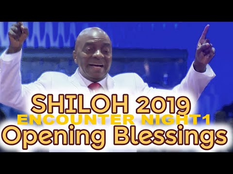 Bishop Oyedepo  Shiloh 2019 Breaking Limits-Opening Blessings-Day 1