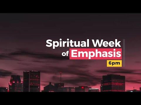 Week of spiritual Emphasis Day 2  08-04-2021  Winners Chapel Maryland