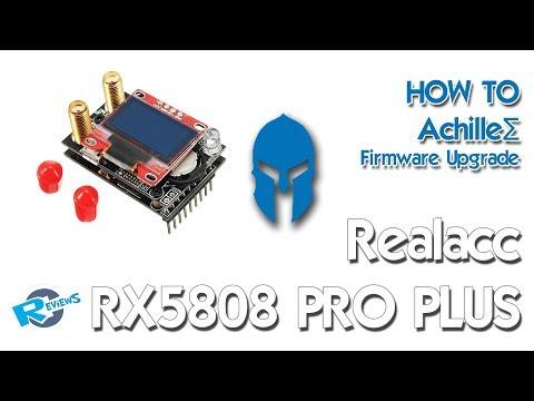 AchilleΣ 2.0 Realacc RX5808 PRO PLUS upgrade Diversity Receiver - UCv2D074JIyQEXdjK17SmREQ