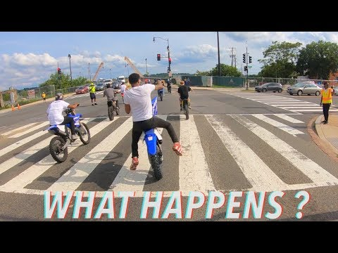 DOES BOOGIE LOSE CONTROL OF THE YZ125 ?! | BRAAP VLOGS