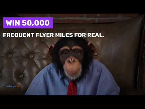 Win 50,000 frequent flyer miles of your choice Giveaway Image