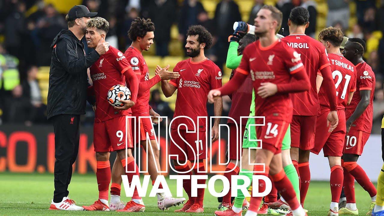 Inside Watford: Watford 0-5 Liverpool | Away end goes crazy for Mane, Salah & Firmino