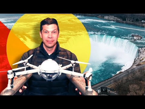 This selfie drone can handle anything (weather, water, and more)