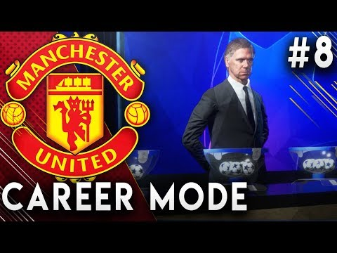 FIFA 19 Manchester United Career Mode EP8 - Champions League R16 Draw!! Transfer Window Opens!!