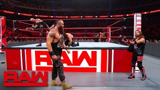 HINDI - Seth Rollins & Braun Strowman vs. Gallows & Anderson – Raw, August 20, 2019