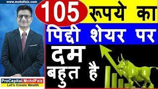 105 रूपये का पिद्दी शेयर पर दम बहुत है | share market in hindi | stock market in hindi