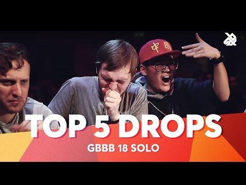 TOP 5 DROPS 😱 Grand Beatbox Battle Solo 2018 - UCzgUc_EaBp2-u-zEvTC6P0g