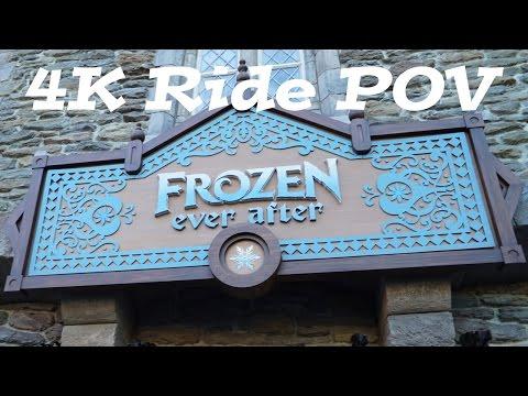 FROZEN Ride | Frozen Ever After Full ride through 4K | Walt Disney World Epcot | FL Attractions 360 - default
