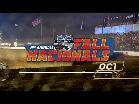 What makes Fall such a beautiful season? Is it the crisp air? Or the turning leaves? Or is it the roaring, fender-slamming action of Late Model Dirt Track Racing? Decide for yourself at the 6th Annual Lucas Oil MLRA Fall Nationals at Lucas Oil Speedway in Wheatland, Missouri! Bring the whole family and get cozy around the big dirt oval for some hot racing action. It all happens October 12th and 13th and its ONLY at Lucas Oil Speedway. For tickets and info, visit LucasOilSpeedway.com! - dirt track racing video image