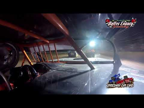 #71 Jerry Brown - B Mod - 8-13-2021 Dallas County Speedway - In Car Camera - dirt track racing video image