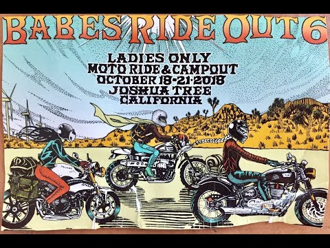 Babes Ride Out 6, 2018 - UCtaAsbcgKv3YqAODi02Laug