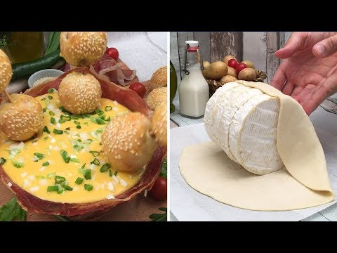 Summer-time Fondue 🌞 Cheesy Dips 🧀 A Mozzarella Lake 🇮🇹 We're Dipping Chefclub Style 🏖️