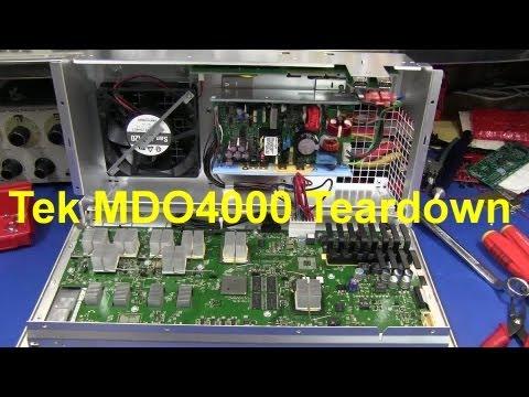 Tektronix MDO4000 Oscilloscope Teardown - EEVblog #199 - UC2DjFE7Xf11URZqWBigcVOQ