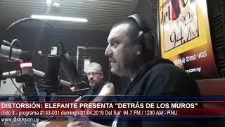 """""""Elefante: de los 90 al futuro ... en Distorsión: """"  #133-031 dom 21.04.2019"""
