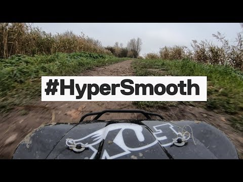 GoPro Hero7 HyperSmooth Test - 60 MPH+  RC Car