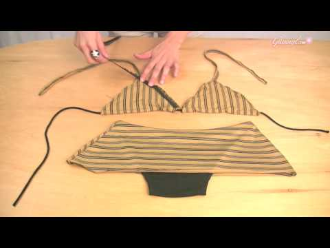 How to Make A Basic Triangle Top with skirted bottom - giannyl