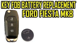 Cambio pila chiave Fiesta Mk7 da 2017