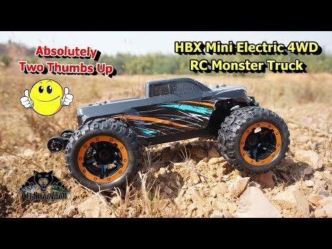 HBX 16889 Electric Off Road 4WD Mini RC Monster Truck - UCsFctXdFnbeoKpLefdEloEQ