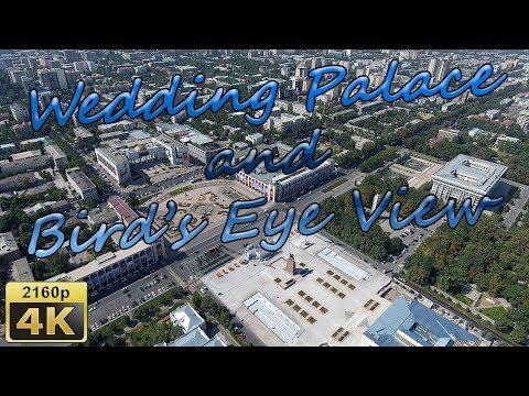 Wedding Palace and Bird's Eye View in Bishkek - Kyrgyzstan 4K Travel Channel - UCqv3b5EIRz-ZqBzUeEH7BKQ