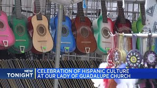 Celebration of Hispanic culture at Our Lady of Guadalupe Church