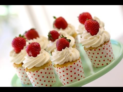 Beth's Strawberry Shortcake Cupcake Recipe   ENTERTAINING WITH BETH