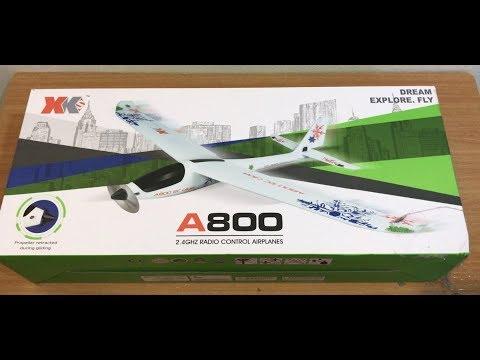 XK A800 RC Glider Unboxing - UCo7aZssP_c15EVXOxO3v7KA