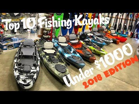 Top 10 Fishing Kayaks Under $1000 | 2018 Edition - UCYodbaugFoQAvGL2StgQ3tQ