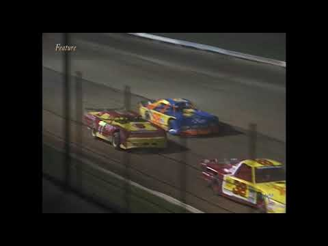 Full race from the Limited Late Model division at Hartford Speedway Park in MI August 15, 2003. - dirt track racing video image