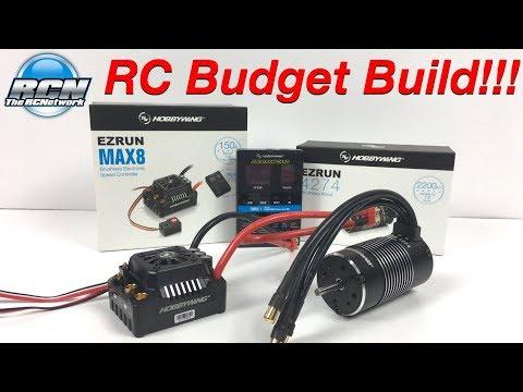 RC Budget Build - HOBBYWING EZRun Max8 Combo 1/8th - Unboxing - UCSc5QwDdWvPL-j0juK06pQw